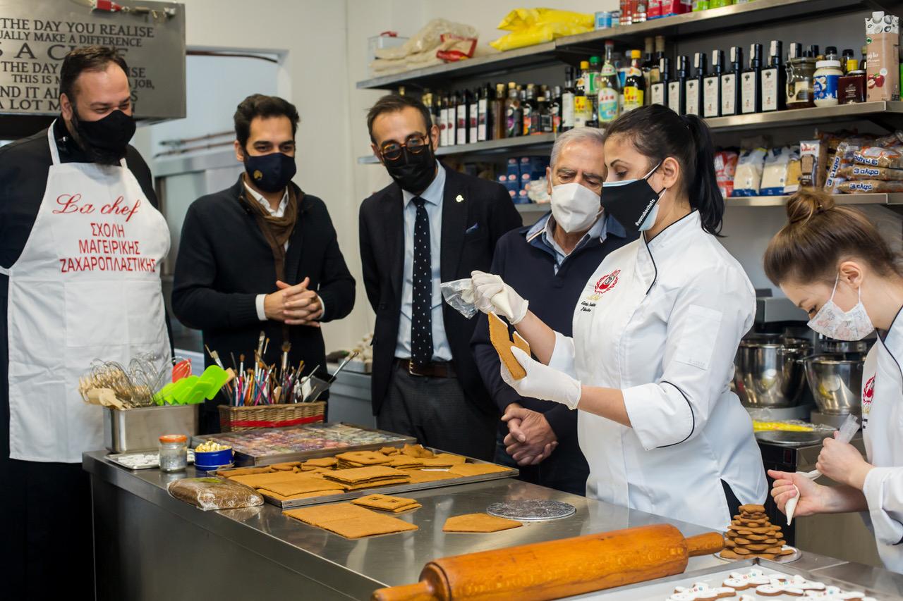 φιλανθρωπική δράση la chef levi φάρος του κόσμου