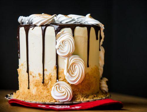Layer κέικ Σοκολάτα-Βανίλια