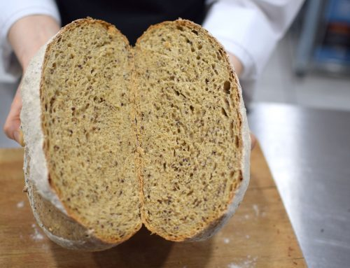 Χειροποίητο ψωμί με αλεύρι Κινόα