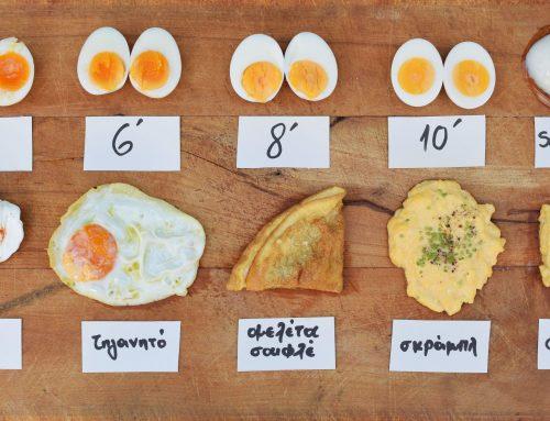 Αβγά: οι σωστοί χρόνοι για κάθε είδος μαγειρέματος